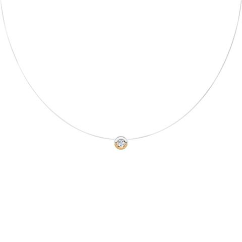 Бегунок из  золота на леске-невидимке от SOKOLOV арт.070304