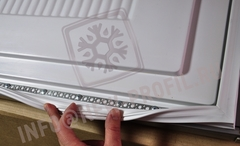 Уплотнитель для холодильника  Electrolux ENA38933X х.к. 1175*570 мм(012 АНАЛОГ)