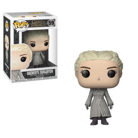 Фигурка Funko POP! Vinyl: Game of Thrones S8: Daenerys (White Coat) 28888