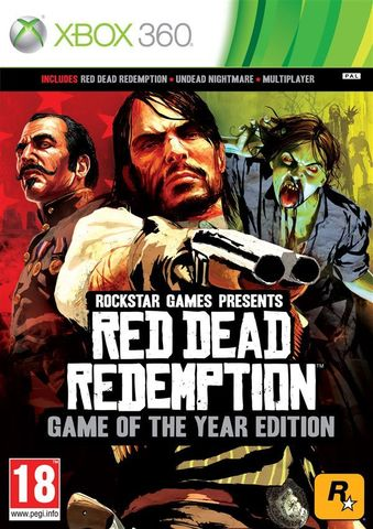 Red Dead Redemption - Game of the Year Edition (Xbox One - Xbox 360, английская версия)