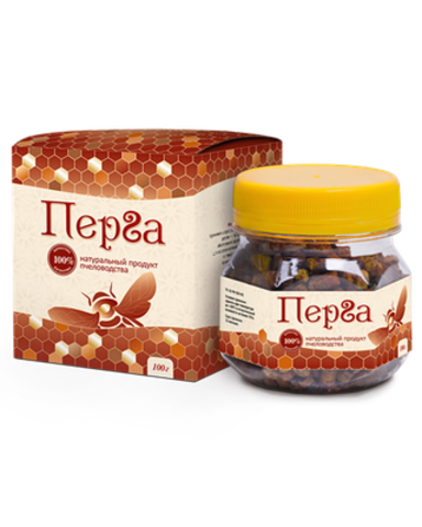 Перга, пчелиный хлеб 100г