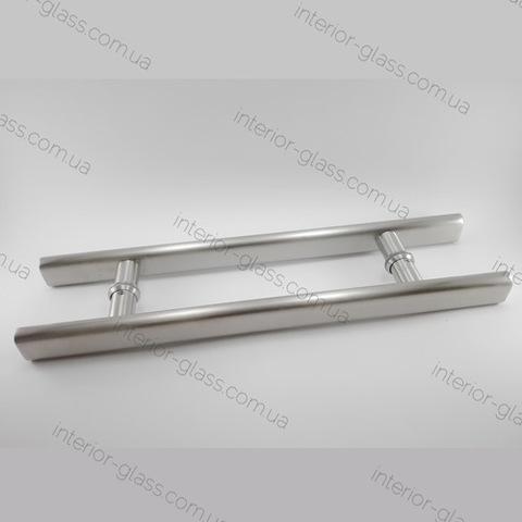 Ручка трубчатая Эллипс L=480 мм ST-635 для стеклянных дверей
