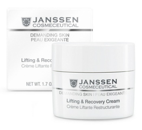 Восстанавливающий крем с лифтинг-эффектом Janssen Lifting & Recovery Cream, 50 мл.