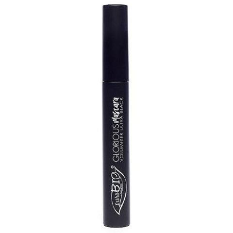 PuroBio - Тушь для ресниц объемная (черная) 7 мл / Glorious MASCARA - volumizer ultra black