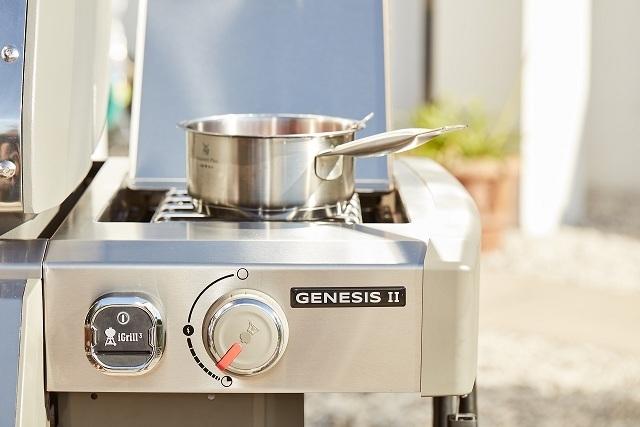 Гриль газовый GENESIS II SP-335 GBS, нержавеющая сталь.