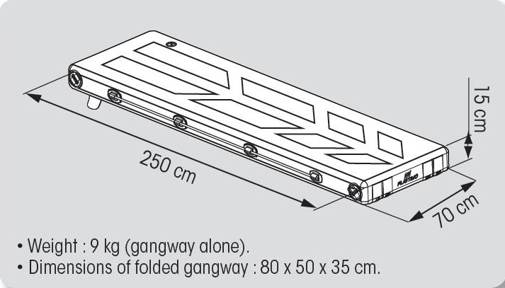 INFLATABLE GANGWAY