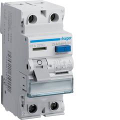 Устройство защитного отключения 2P 25A 300mA A