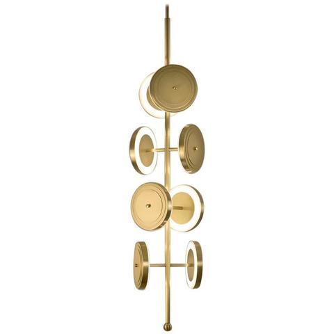 Потолочный светильник копия Le Royer by Larose Guyon (золотой)