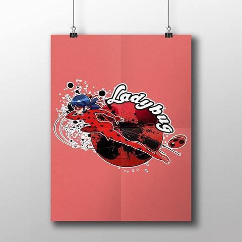 Плакат с Леди Баг №3