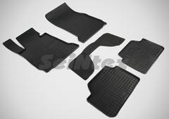 """Резиновые коврики """"Сетка"""" для BMW 1 (с 2013)"""