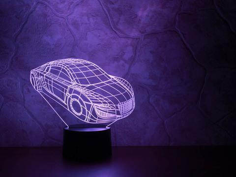 3D лампа Автомобиль