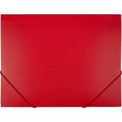 Папка на резинках Attache А4 пластиковая красная (0.6 мм, до 200 листов)