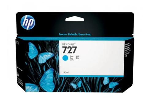 Картридж струйный HP B3P19A (№727) голубой