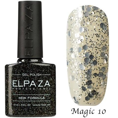 Гель лак Elpaza Magic,РОССЫПЬ ЗВЕЗД 10