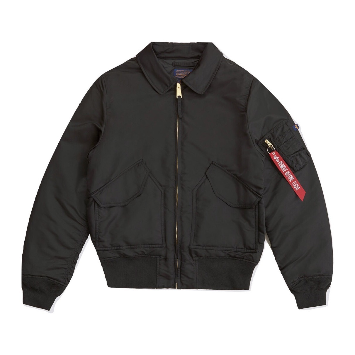 Куртка Alpha Industries CWU 45/P Slim Fit Black