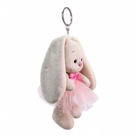 Брелок Зайка Ми в розовой юбке и с бантиком (брелки Budi Basa)