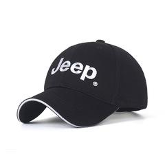Модная бейсболка с вышивкой Джип (Кепка Jeep) черная