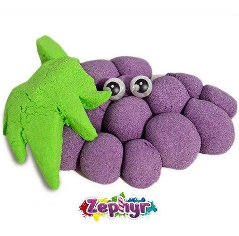 ZEPHYR (Зефир) - кинетический пластилин, дой-пак 75 гр, цвет МИКС, с формочкой
