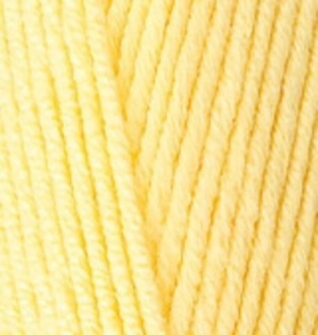 Пряжа Lanacoton Alize 187 Светлый лимон, фото
