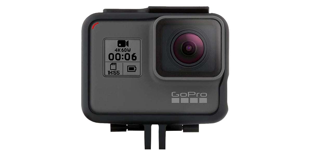 Крепление-рамка GoPro The Frame с камерой