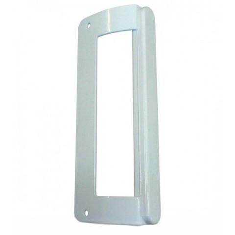 Ручка двери холодильника Аристон,Стинол,Индезит (скоба) белая 200 мм (26690039)