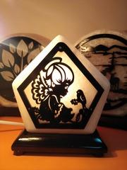 Солевая лампа Ангел 1,3 кг