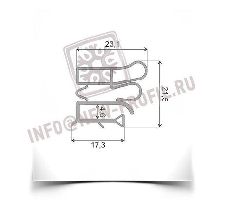Уплотнитель 90*56 см для холодильника Позис Electrofrost 140 (холодильная камера) Профиль 012