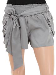 74085-1 шорты женские серые