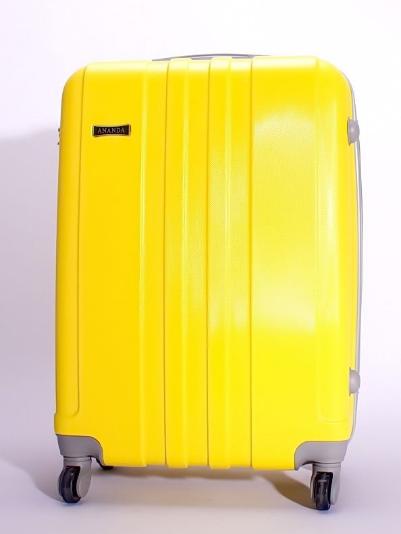 Чемодан Ananda 533 Желтый (M)