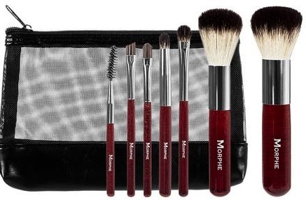 Morphe 7 Piece Mini Badger Brush Set набор кистей