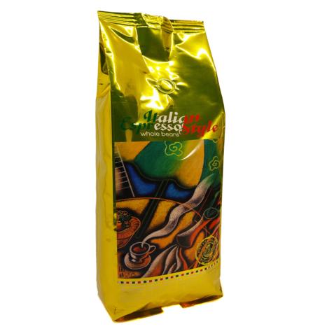 Кофе в зернах Paradise Эспрессо Италиан Голд, 1 кг