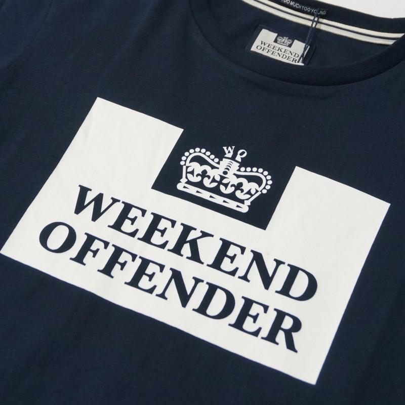 Футболка Weekend Offender Prison Tee navy