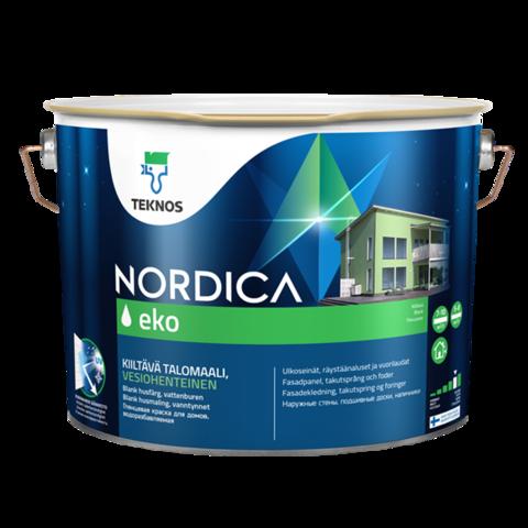 TEKNOS NORDICA EKO/ТЕКНОС НОРДИКА ЭКО Краска для домов