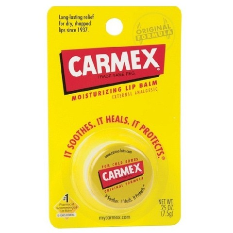 Carmex Бальзам для губ Everyday Healing lip balm original jar