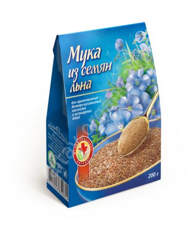 Мука из семян льна, 200 гр. (Специалист)
