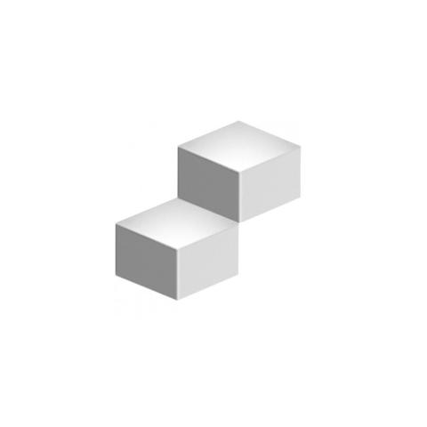 Настенный светильник копия Fold 4201 by Vibia (2 плафона, белый)