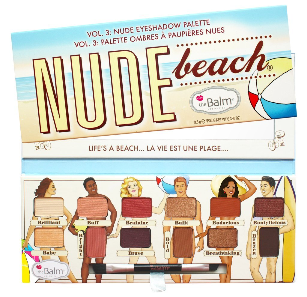 Палетка теней The Balm Nude Beach