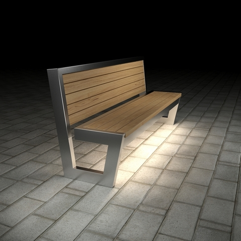 Диван ПАРК с подсветкой