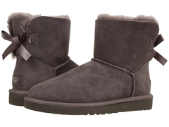 UGG Bailey Bow Mini Chocolate