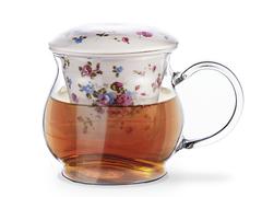 9271 FISSMAN Casablanca Кружка для чая с фильтром и крышкой 500 мл