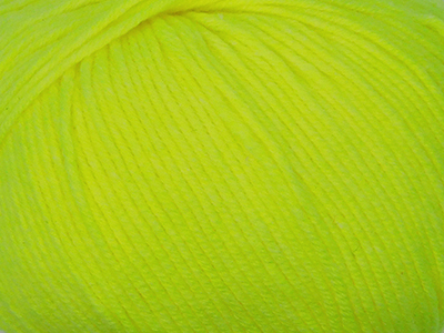 Пряжа Gazzal Baby Cotton 3462 желтый неон