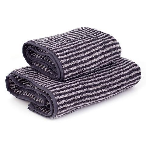 Комплект полотенец ILTA (2 шт., черная полоска)