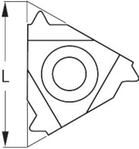 СМП с неполным профилем 55° внутренняя, правая 48-16
