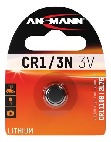 Батарейка CR 1/3 N / CR 11108 / 2L76 ANSMANN 3V