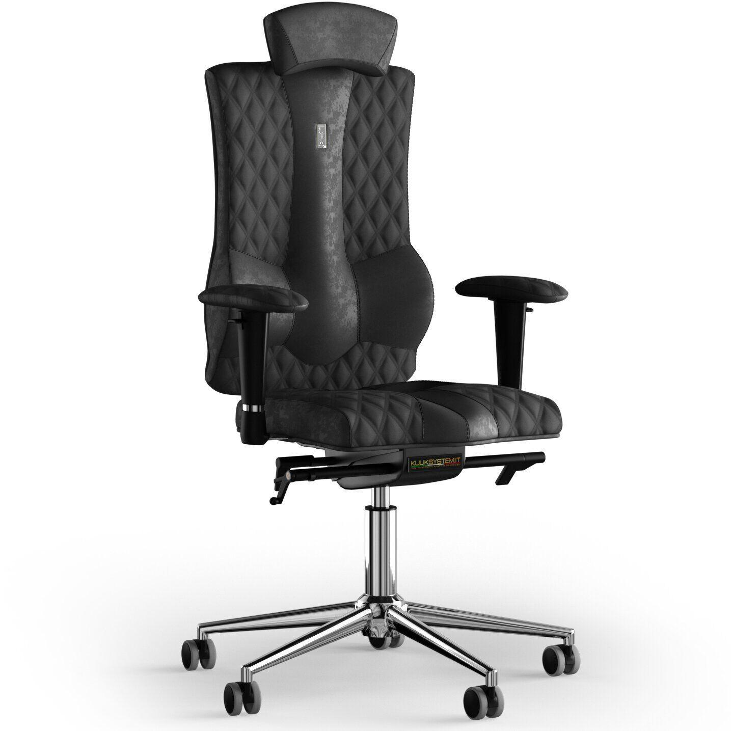 Кресло KULIK SYSTEM ELEGANCE Антара с подголовником со строчкой
