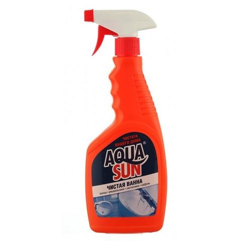 Aquasun Средство чистящее жидкое «Чистая ванна» 500 мл