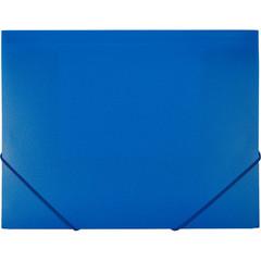 Папка на резинках Attache А4 пластиковая синяя (0.6 мм, до 200 листов)