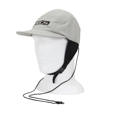 FCS Essential Surf Cap Hat Light Grey MD