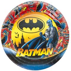 Тарелки Бэтмен, 6 шт. (7''/18 см)