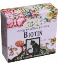 Пастилки из сыворотки для кошек KiS-KiS Biotin рост шерсти